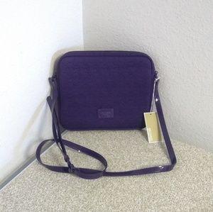 Michael Kors Purple Tablet Bag